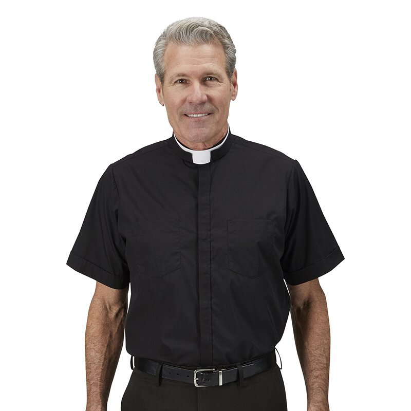 Short Sleeve Milano Comfort Clergy Shirt