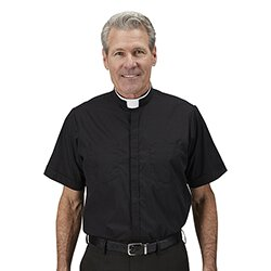 Short Sleeve Milano Comfort Clergy Shirt