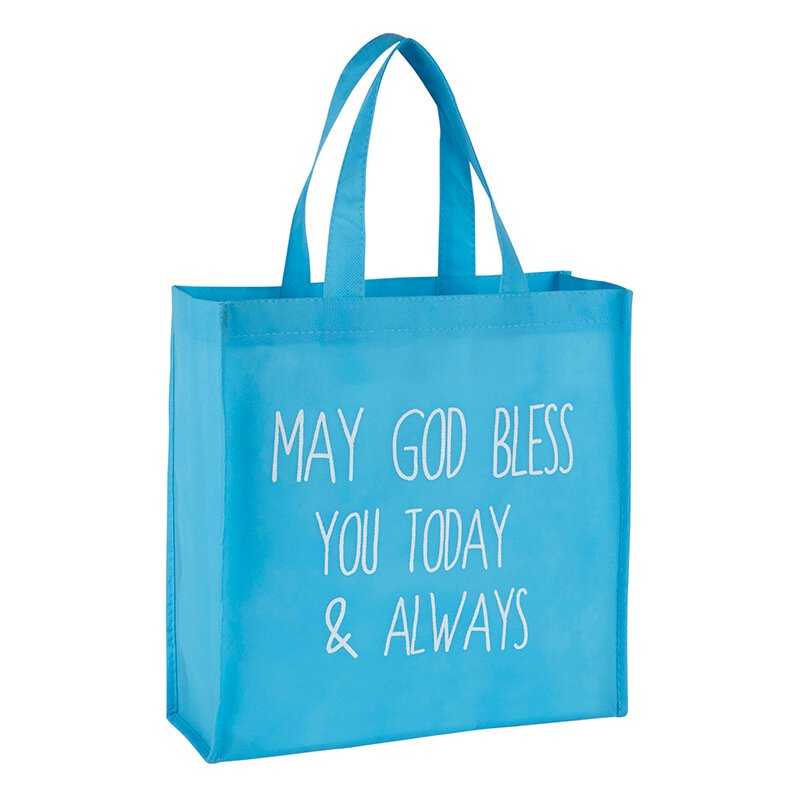 May God Bless You Today & Always Blessing Tote - 12/pk