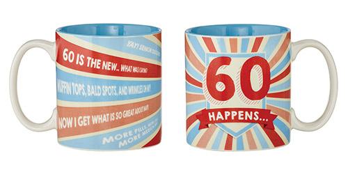 60 Happens Mug