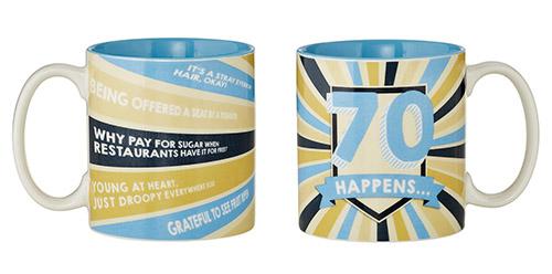 70 Happens Mug
