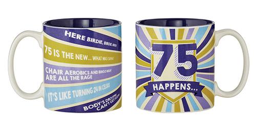75 Happens Mug