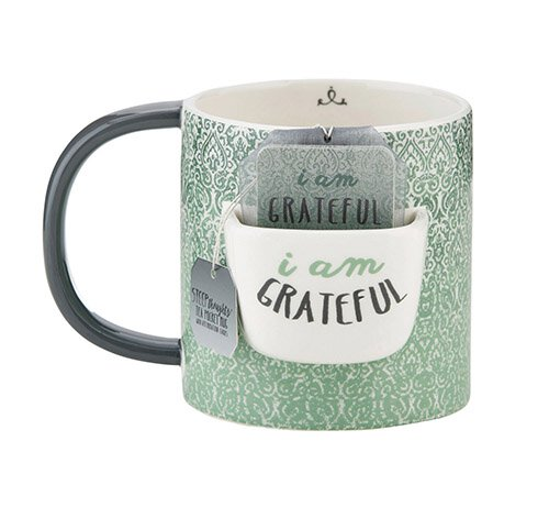 I Am Grateful Mug
