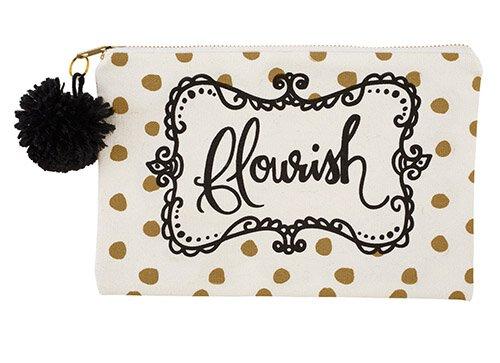 Canvas Pouch - Flourish
