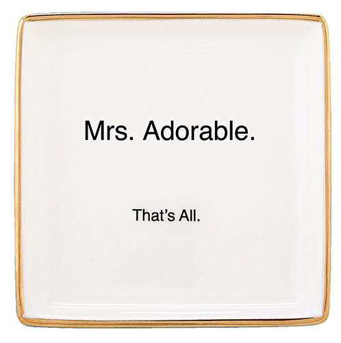 Trinket Tray - Mrs Adorable - That's All