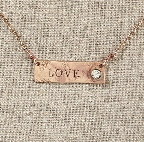 Love - Necklace - Grateful Heart