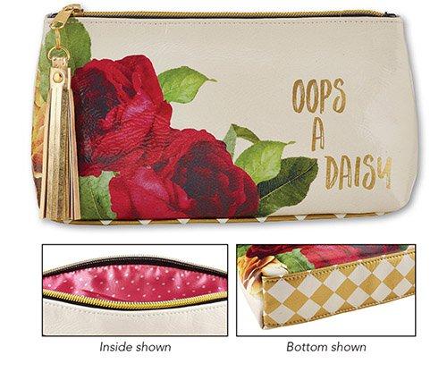 Oops a Daisy Oil Cloth Bag - Small