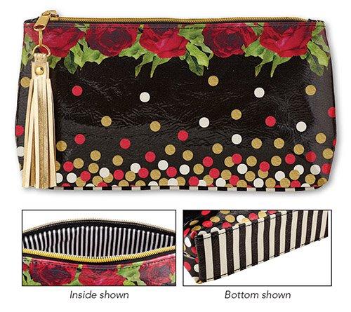 Polka Dot Oil Cloth Bag Small