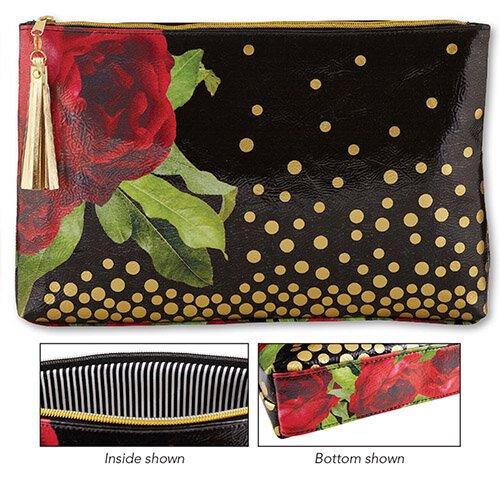 Oil Cloth Bag - Large - Black Gold