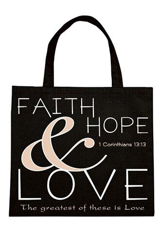Faith, Hope & Love Tote 12Pk
