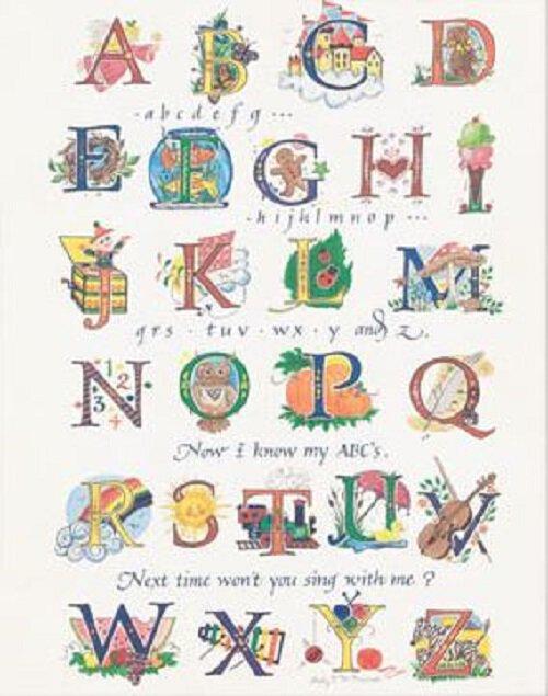 Print Alphabet 100 Pk