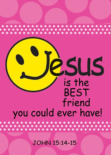 Verse Cards Jesus Best Friend