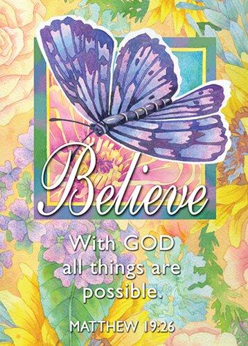 Verse Cards Believe