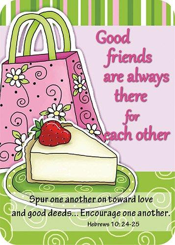 Verse Card Good Friends