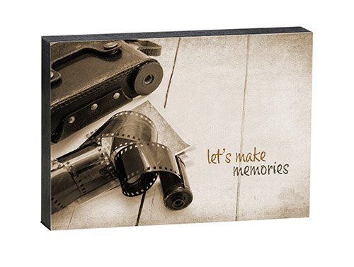 "Make Memories - 7"" X 5"" Box Sign"