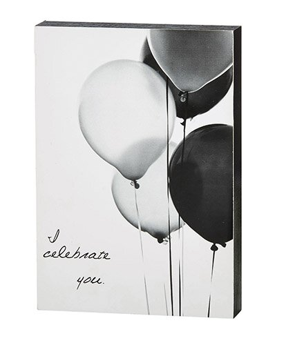 "Celebrate You - 5"" X 7"" Box Sign"