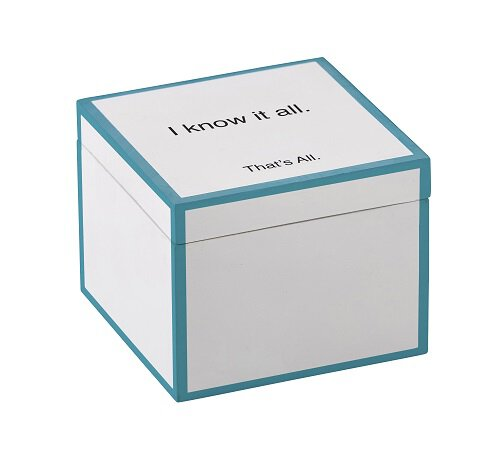 Boxed Note Sheets - I Know It All