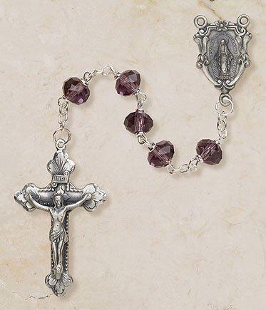 Amethyst Fatima Rosary