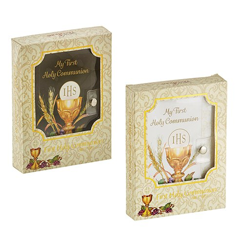 Bread of Life First Communion Taper Candle - 24/pk - Discontinued