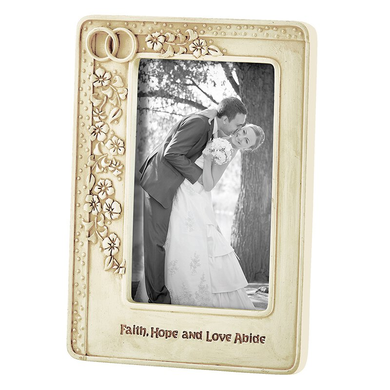 Abiding In Love Wedding Photo Frame