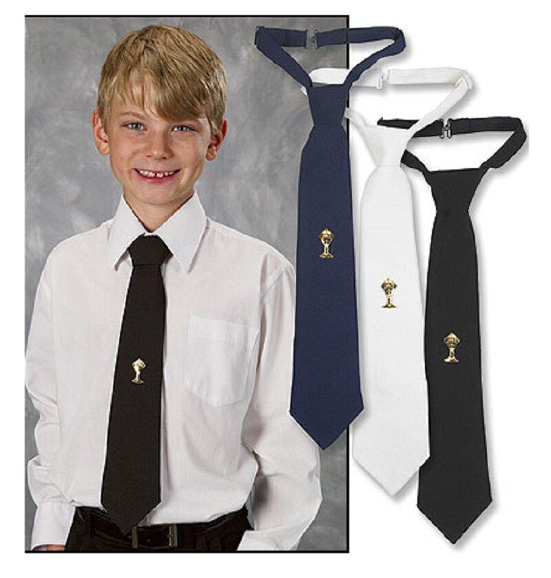 First Communion Necktie with Tie Tack