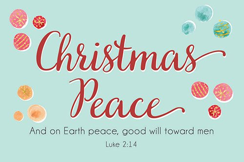 Pass It On - Christmas Peace
