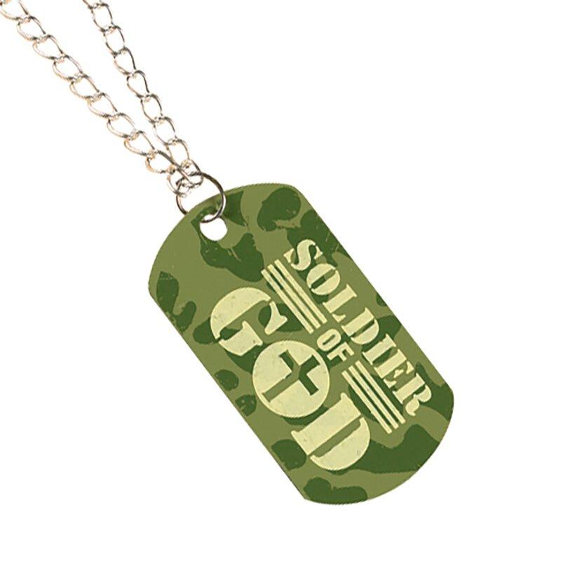 Soldier of God Dog Tag