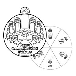 Catholic Crafts & Novelties, Color Your Own Posters ...