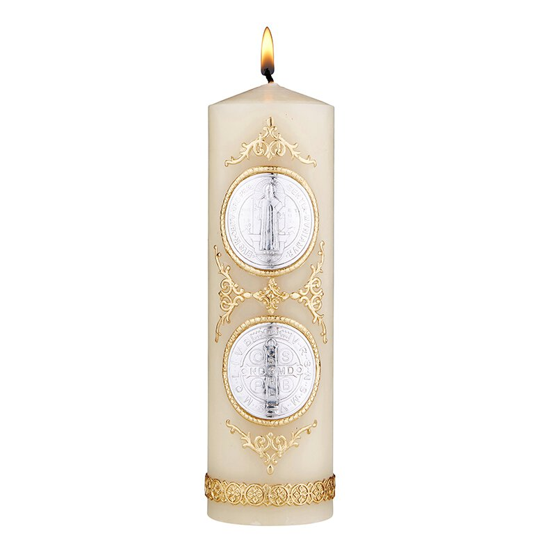 Devotional Candle - St. Benedict