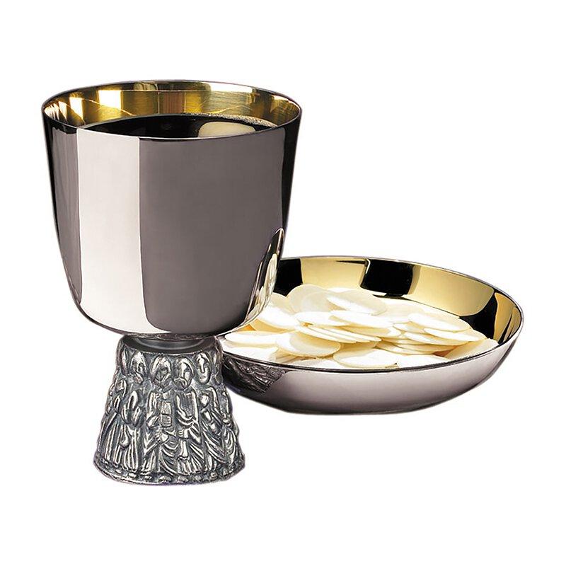 Sudbury Brass™ Last Supper Chalice and Bowl Paten