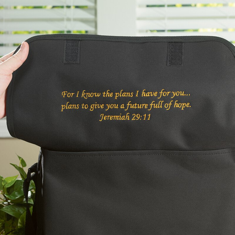 Messenger Bag with a Message