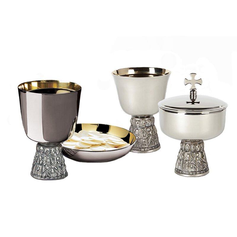 Sudbury Brass™ Last Supper Chalice, Ciborium and Common Cup Set