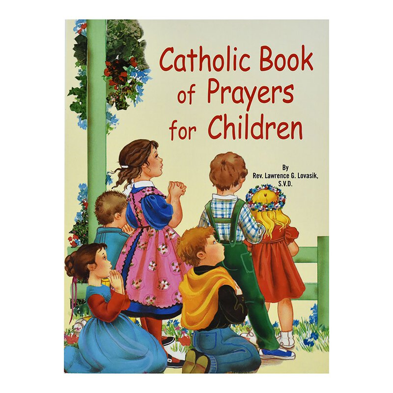 St. Joseph Picture Book - Catholic Book of Prayers for Children - 10/pk