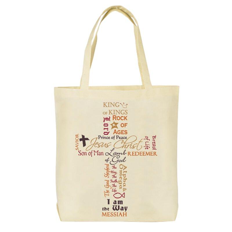 Names of Jesus Tote Bag - 12/pk