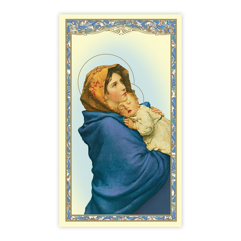 Madonna of the Streets Holy Card - 100/pk