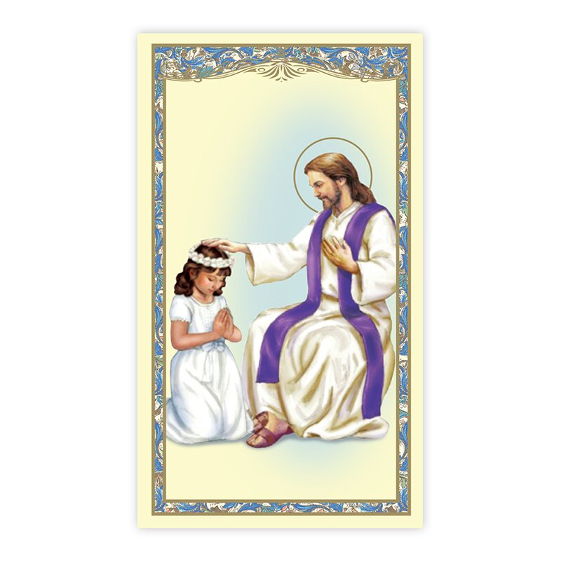 Reconciliation (Girl) Holy Card - 100/pk