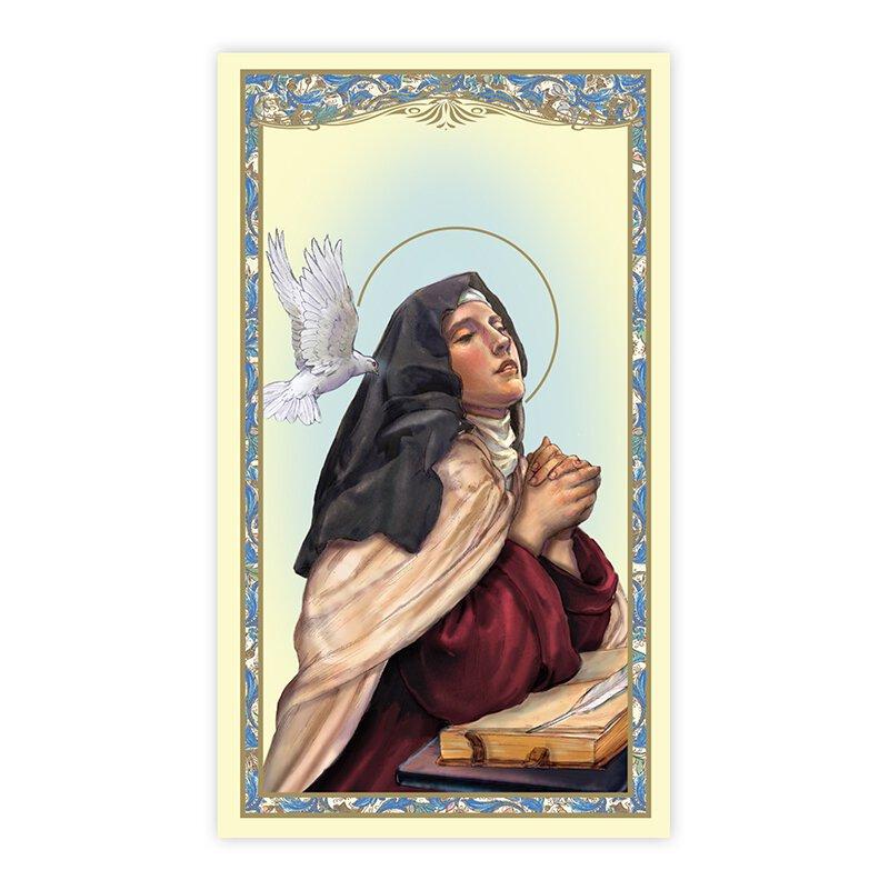 St. Teresa of Avila Holy Card - 100/pk