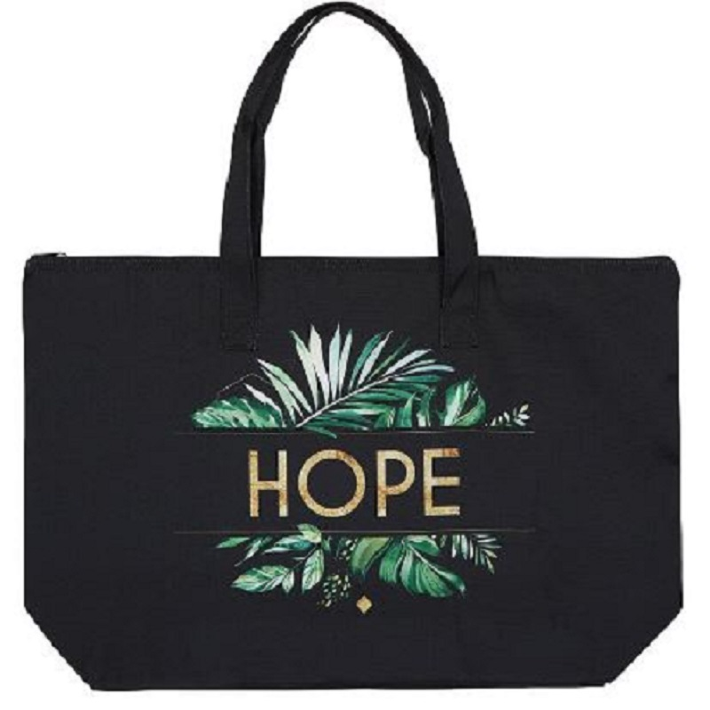 Hope Zipper Tote - 2/pk