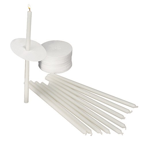 "8-1/2"" Candlelight Service Kit - 50/bx"