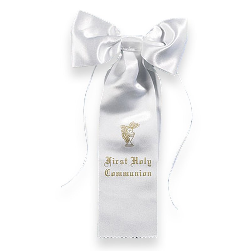 First Communion Arm Bow - 8/pk