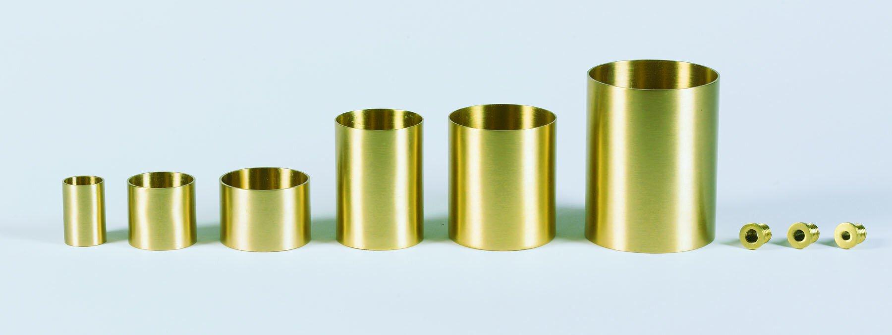 """1-1/2"""" Wilbaum Brass Sockets - 6/PK"""