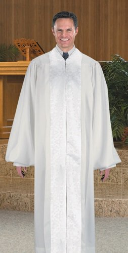 Ivy Pulpit Robe/Jacquard Panel