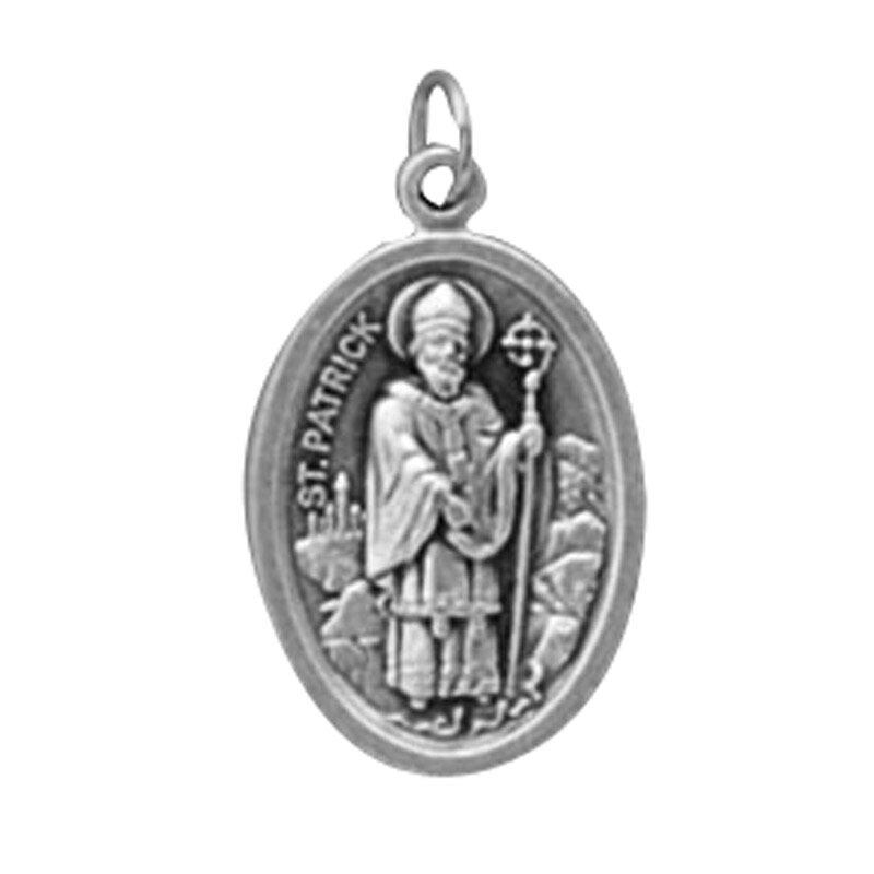 St. Patrick/St.Bridget Oxidized Medal - 50/pk