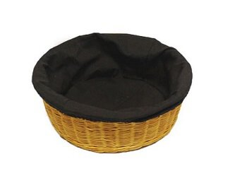 Round Collection Basket with Removable Liner