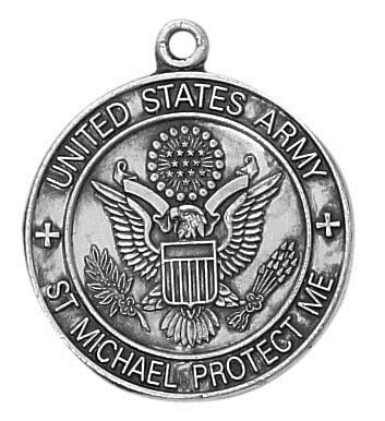 Sterling Silver Army Medal