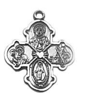 Creed® Four Way Sterling Medal