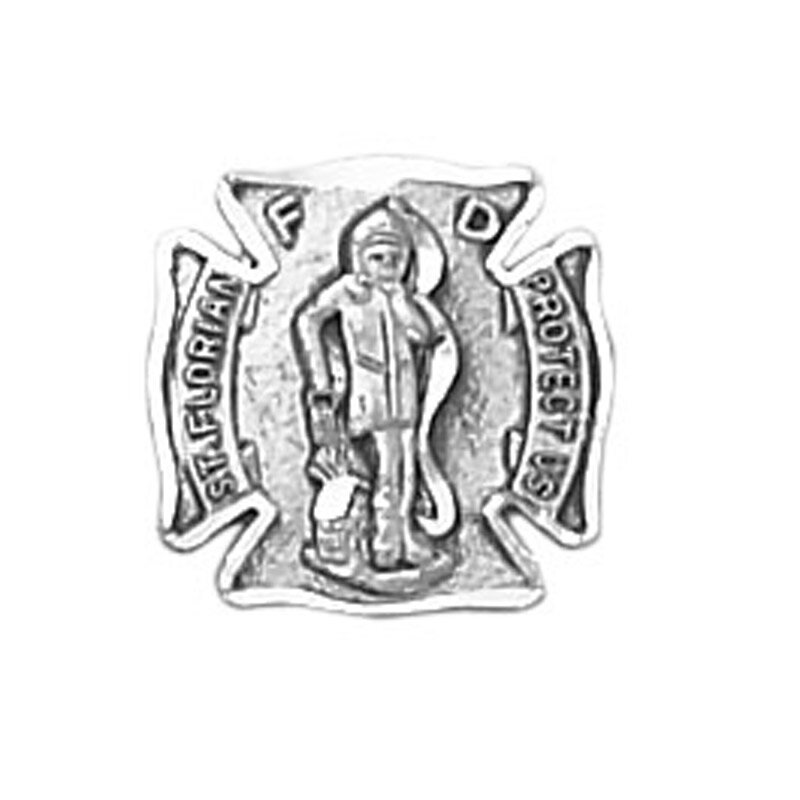 Creed® St. Florian Sterling Silver Lapel Pin