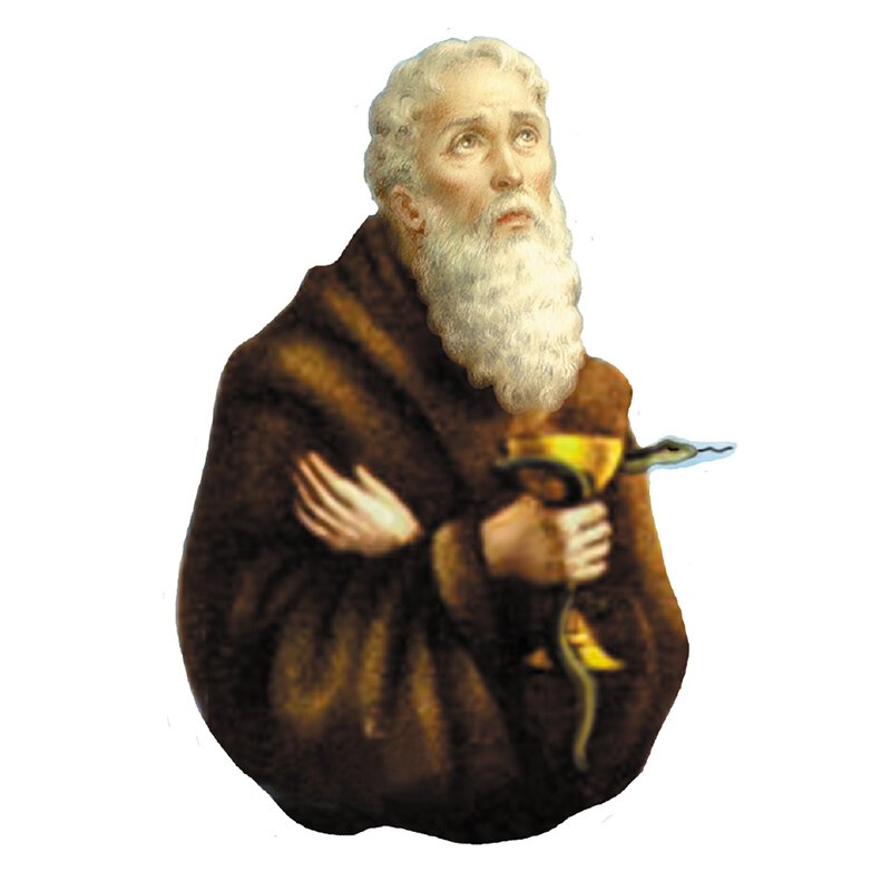 St Benedict Pocket Saint - 24/pk