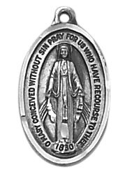 Sterling Miraculous Medal