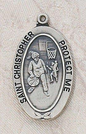 Girl's Basketball St Christopher Sports Medal